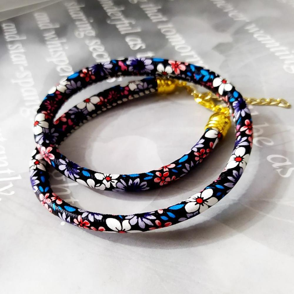دستبند دوبل فانتزی طرح سنتی دخترانه