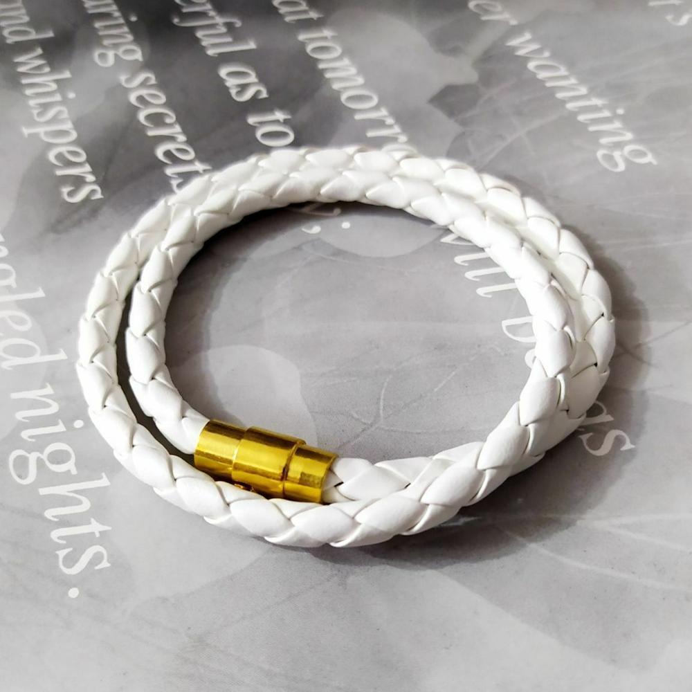 دستبند دوبل چرمی اسپورت