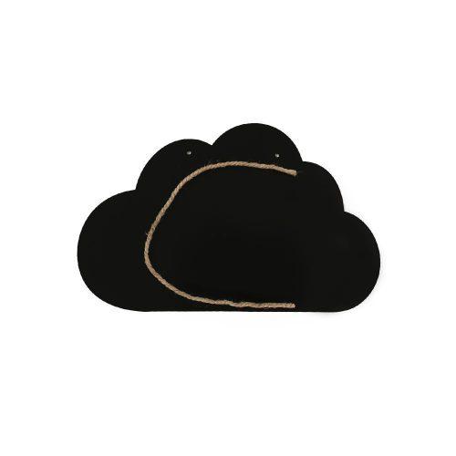 تخته سیاه فانتزی طرح ابر آویزی، مناسب برای یادداشت های روزانه و منوی غذایی و یادداشت های عاشقانه