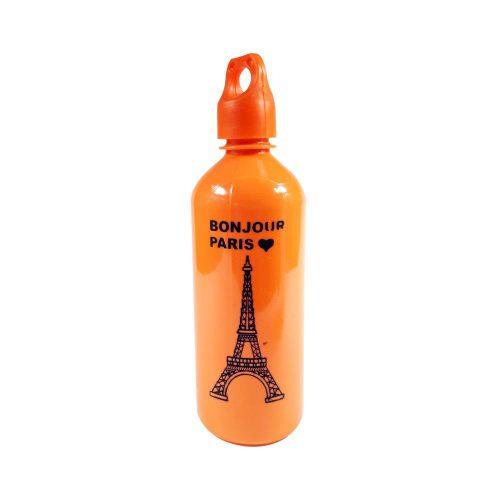 قمقمه پلاستیکی نیم لیتری طرح برج ایفل