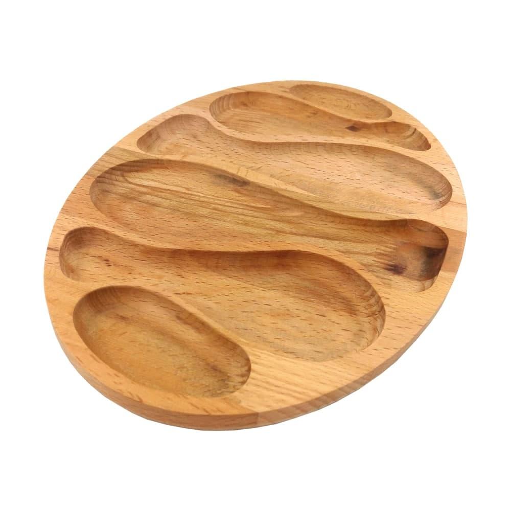اردو خوری چوبی طرح ماهی مدل اطلس