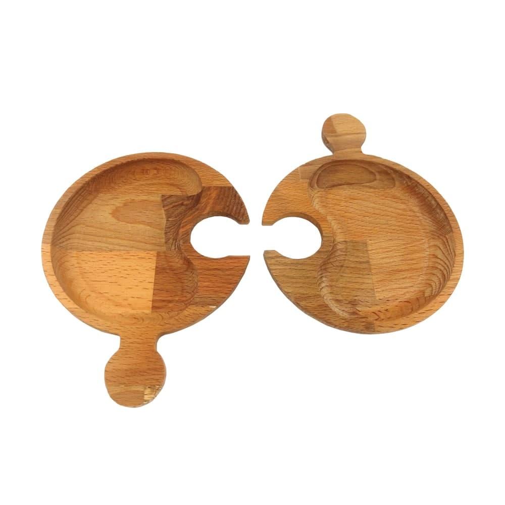 اردو خوری چوبی مدل اورانوس (4 تکه)