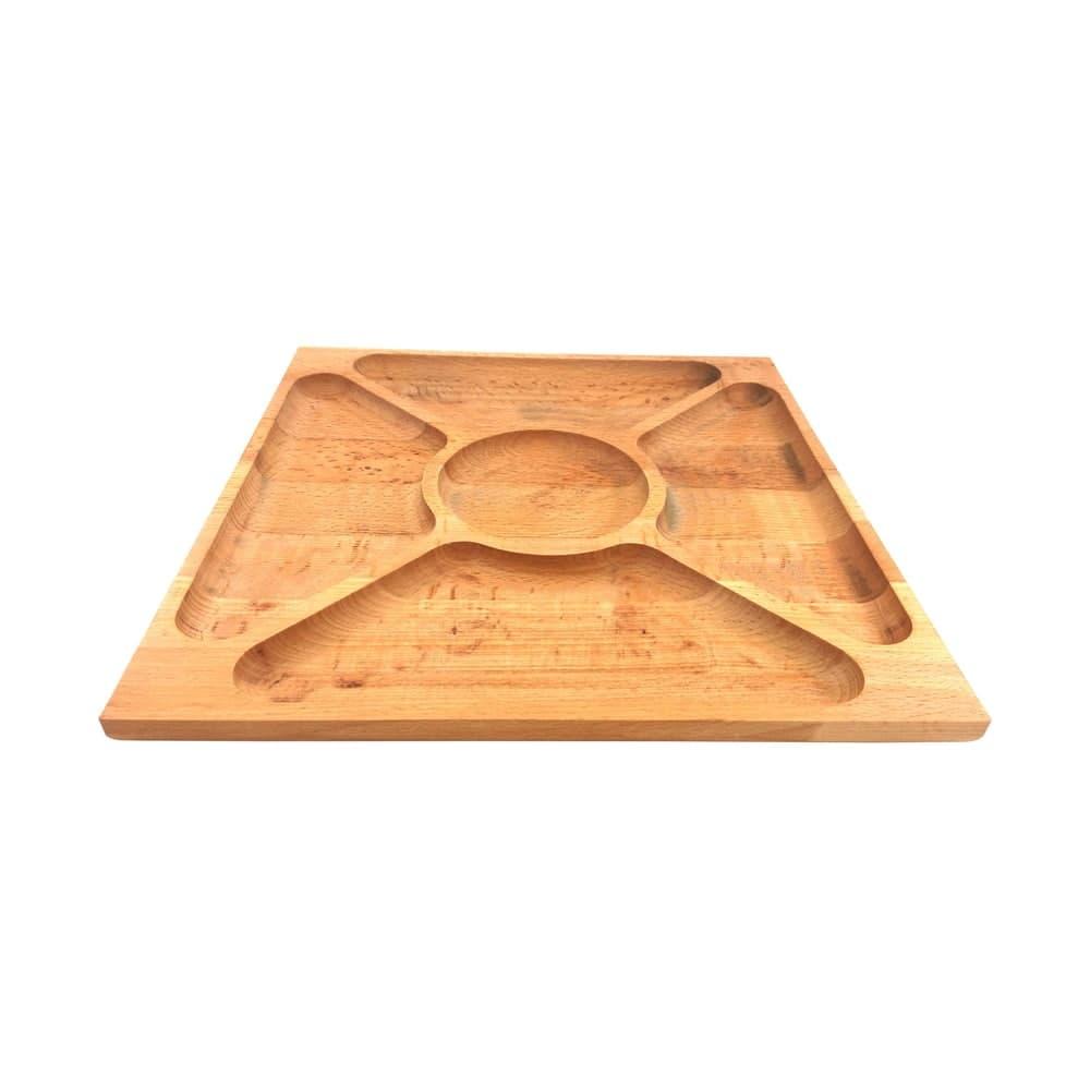 اردو خوری چوبی مدل ارکیده