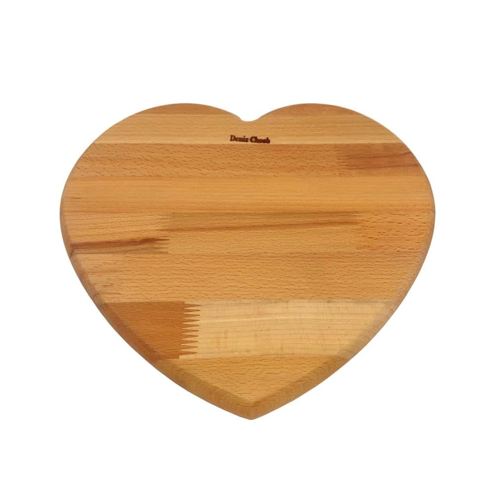 اردو خوری چوبی طرح قلب