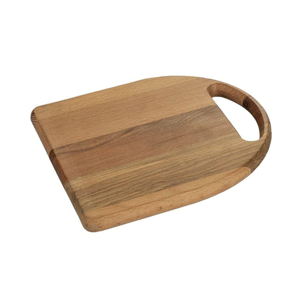 تخته گوشت (تخته کار) چوبی مدل الماس