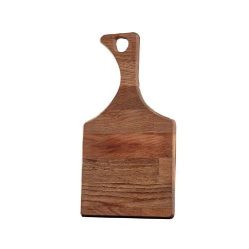 تخته گوشت (تخته کار) چوبی دسته دار مدل زمرد